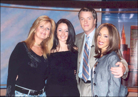 Vicki with WB11 Morning News anchors